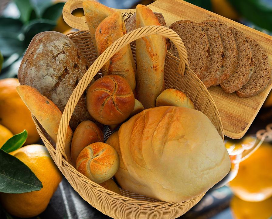 sacharidy, pekárenské výrobky